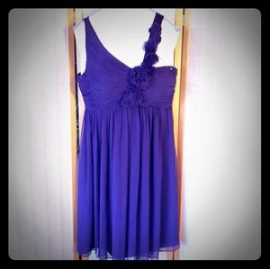 Beautiful Maggy London Royal Purple Short Formal